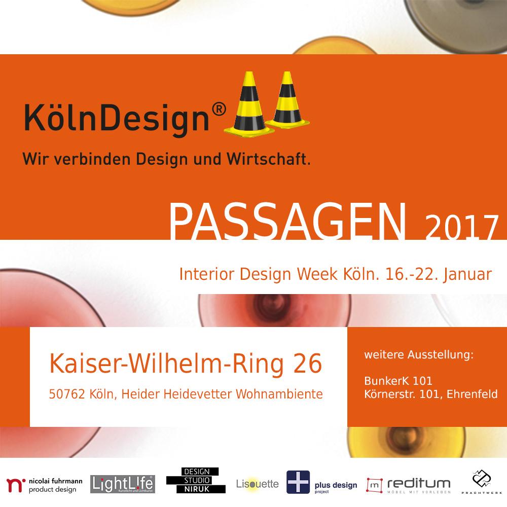 imm Cologne und PASSAGEN in Köln 2017