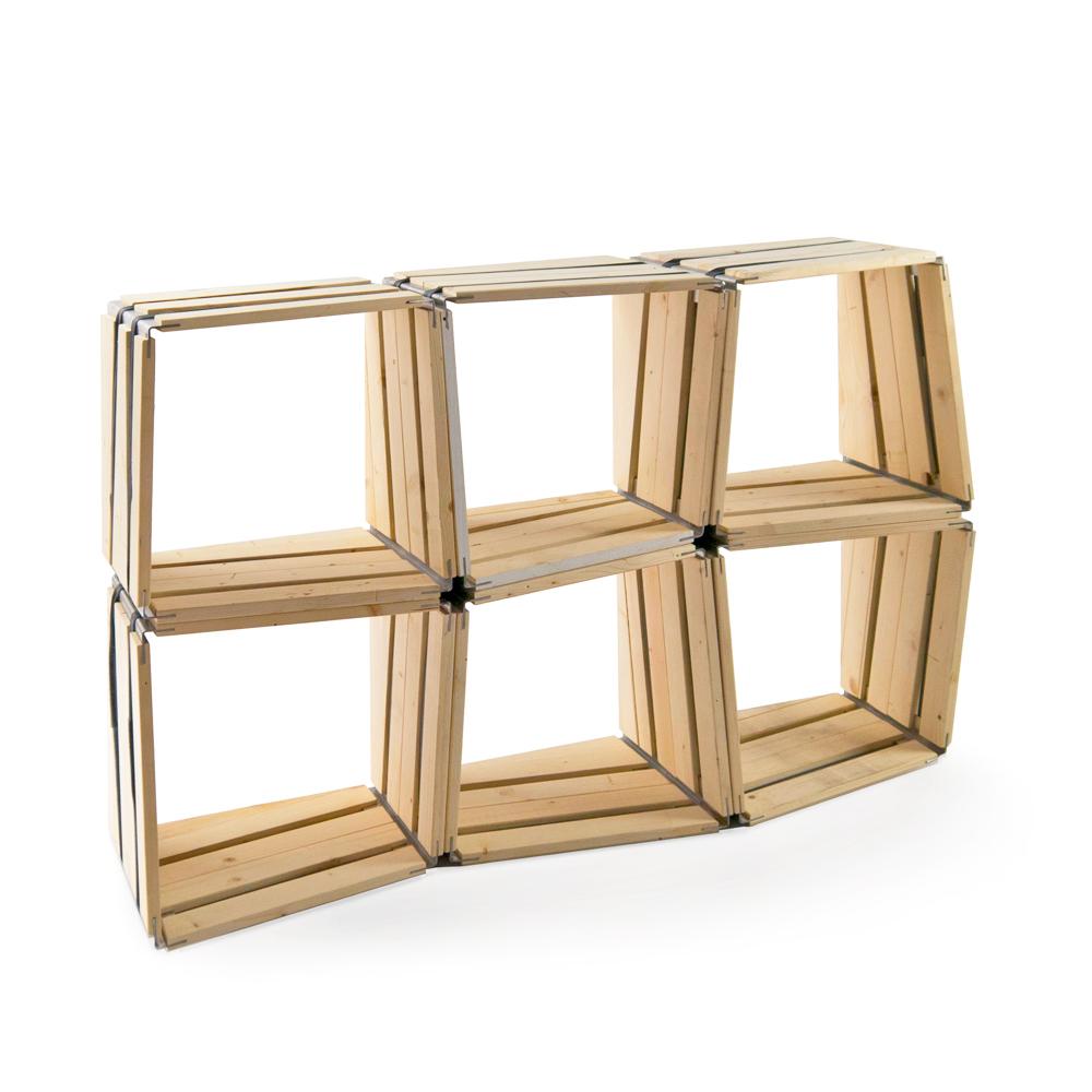 Upcycling design möbel  moveo. via LXXX Upcycling Regalmodul von reditum // Möbel mit Vorleben