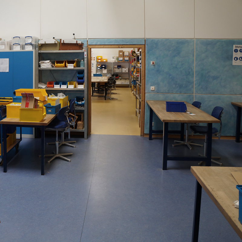 NOW soziale Werkstatt für unsere Upcycling Möbel