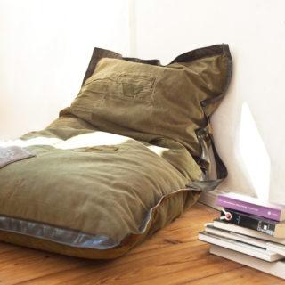 sessio. Sitzsack aus nachhaltigem Upcycling Design