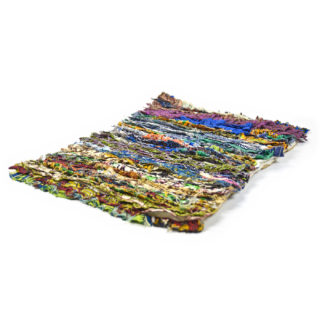 handgemachter Teppich aus Togo Afrika