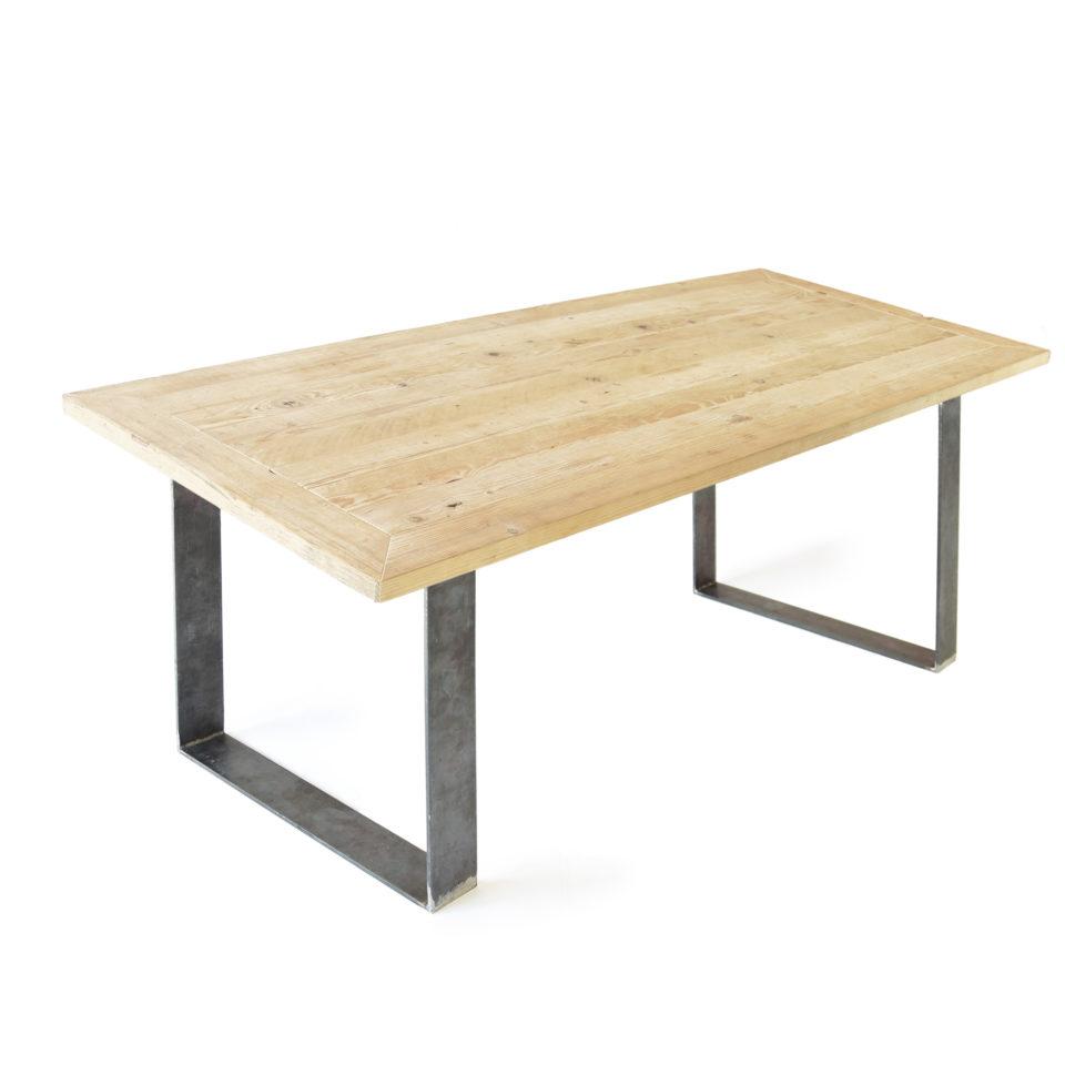 lignaro. nachhaltiger Upcycling Tisch in Fichte